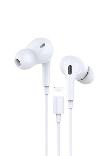 Latest Gadget white Dprui MX830 Earpods Lightning Earphone – White 0ECF0ES5C8DDADGS_1