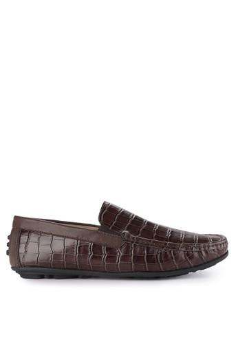 Andre Valentino multi and brown Men Shoes 40017Za 961E5SHA49DA7BGS_1