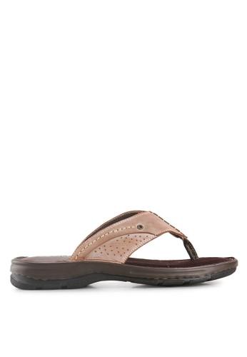 Marelli brown Nixon Sandal MA036SH73FUGID_1