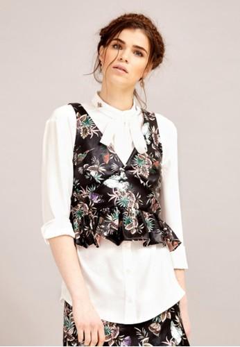 雪紡絲質襯衫esprit hk store, 服飾, 襯衫