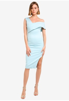 a647aae3a5a04 20% OFF Lavish Alice Double Layer Off The Shoulder Ponte Midi Dress RM  289.00 NOW RM 230.90 Sizes 8 10 12 14 16
