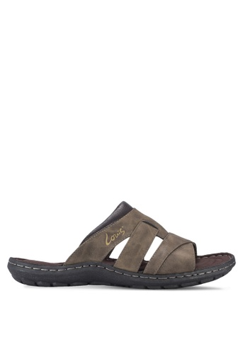Louis Cuppers brown Casual Sandals LO977SH46BAJMY_1