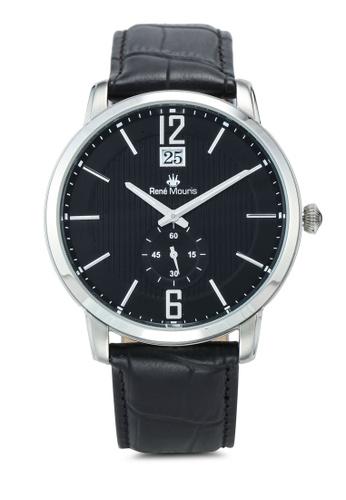 René Mouris black Executive - 44mm Classic Quartz Watch 2283AACEB428C7GS_1