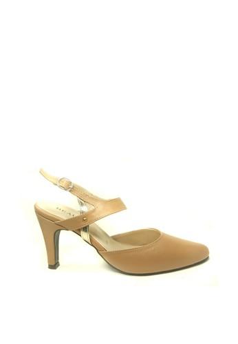 Beauty Shoes brown Beauty Shoes 1184 Paula Heels Brown C687BSHEAF9A40GS_1