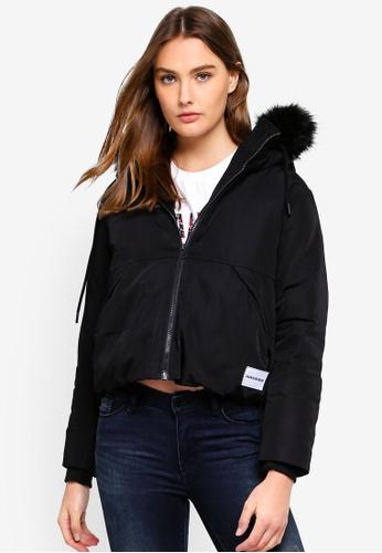 Calvin Klein black Anorak Down Jacket - Calvin Klein Jeans 743D4AA6ADB1D2GS_1