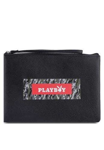 Playboy black Playboy Clutch Bag 28339ACFE9D7CDGS_1
