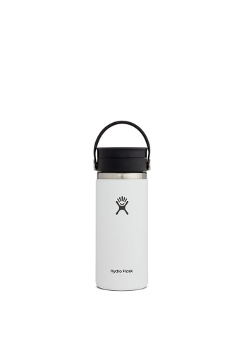 Hydro Flask white Hydro Flask Wide Mouth W/Flex Sip Lid 16 oz (473ml) - White 85FBDAC83E7DB2GS_1