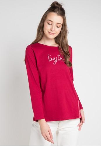Cressida Ladies red and multi Diana Simple T-Shirt B0D11AAA75DA69GS_1