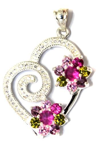 Venice Jewelry silver Middleton's Heart Pendant VE564AC09ZGOPH_1