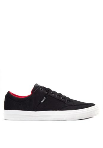 Sonnix black Duros  Q217 Lace Up Sneaker Shoes SO490SH08WAXPH_1
