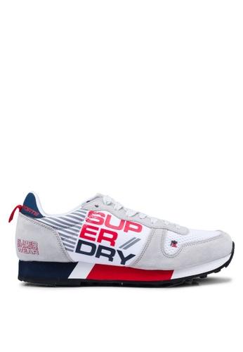Superdry white Streetsport Low Sneakers DE5E9SH6098339GS_1