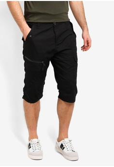 734b5a0fdc Brave Soul black 3 4 Cargo Shorts AEEE0AA990B636GS 1