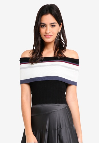 MDSCollections black Contrast Overlay Top Black F0DA1AAE6FF89AGS_1
