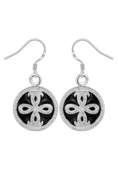 Cersei Silver Plated Earrings
