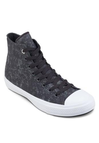 Chuck Taylozalora 心得r All Star II 水洗反光高筒休閒鞋, 女鞋, 鞋