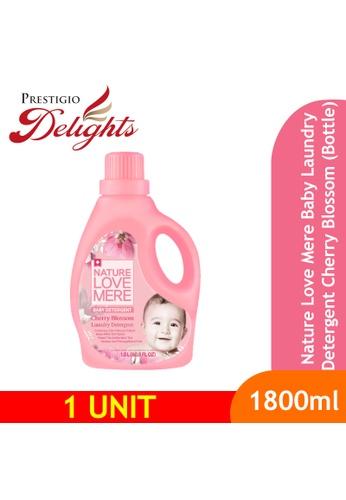 Prestigio Delights black Nature Love Mere Baby Laundry Detergent Cherry Blossom (Bottle) 1800ml A11E7ESF23E504GS_1