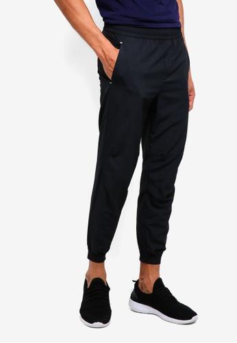 Calvin Klein black Logo Patch Woven Pants C125BAA41C1F3CGS_1