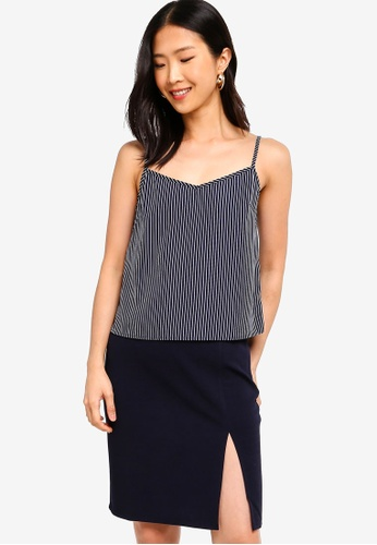 ZALORA BASICS multi Basic Printed Cami Top 3E990AAD55DE2FGS_1