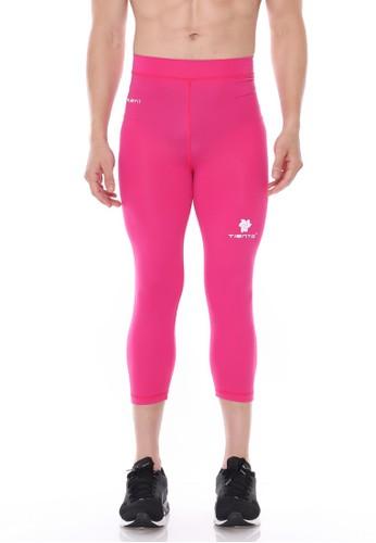 Jual Tiento Tiento Man Compression 3 4 Pants Pink Celana Legging Leging Lejing Sebetis Pria Olahraga Lari Sepakbola Renang Fitness Futsal Original Zalora Indonesia