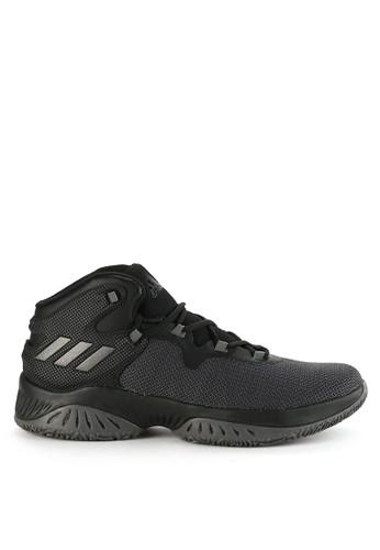 adidas black adidas explosive bounce AD349SH0WDKWID_1