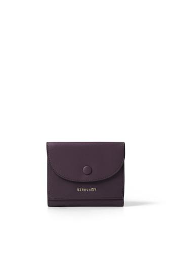 BERACAMY brown BERACAMY Tri-fold Compact Wallet - Cacao 86279AC4A5D4BEGS_1