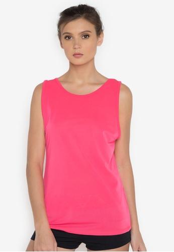Verve Street pink Sabrina Sports Tank VE915AA0JP14PH_1