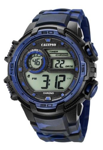 Calypso blue Sporty Men's Watches CAL K5723/1 BDBD1AC9BE5273GS_1