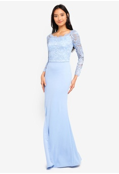 32938af343 26% OFF WALG Lace Sleeve Maxi Dress S  87.90 NOW S  64.90 Sizes 8 10