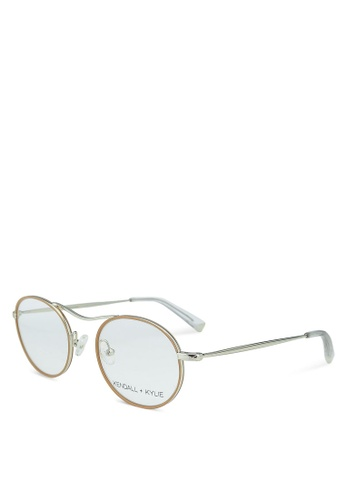 Kendall + Kylie beige Kennedy Glasses DFC79GLA063D58GS_1