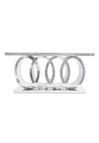 Choice Furniture silver Choice Furniture - Audi Dining Table 35712HLE85A8BFGS_1