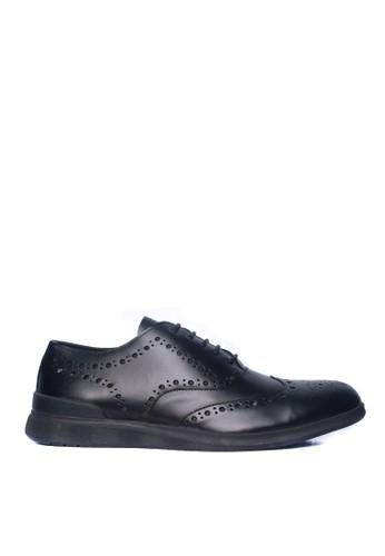 Toods Footwear black Humblepaps Oxford Wintip - Hitam 05BFBSH797196BGS_1