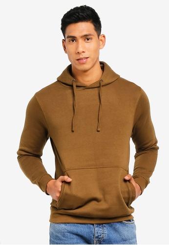 MANGO Man 米褐色 連帽上衣 79C9BAAEF0E175GS_1