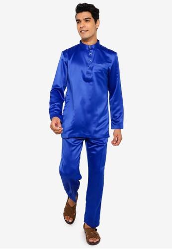 REALFANTASY blue BAJU MELAYU SHAH ISKANDAR 73AF5AA43A86ABGS_1
