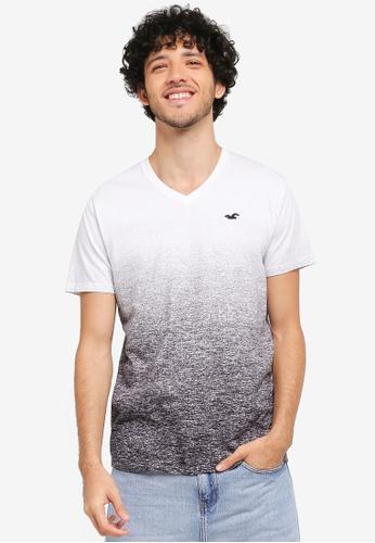Hollister black Ombre T-Shirt HO422AA0T1BWMY_1