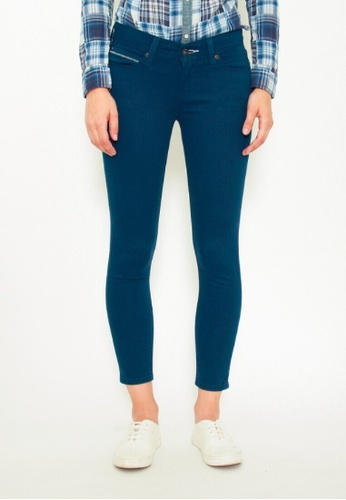DENIZEN blue DENIZEN Women's Skinny Jeans - Dark Blue (Denim) DZ-53011-0376 9D927AA73608AAGS_1