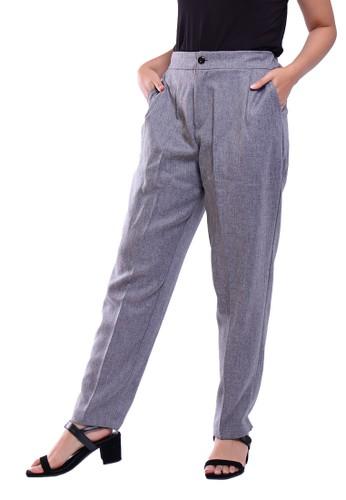 Hardware grey HARDWARE CLEAN STRAIGHT PANTS 23503AAE35ABBEGS_1