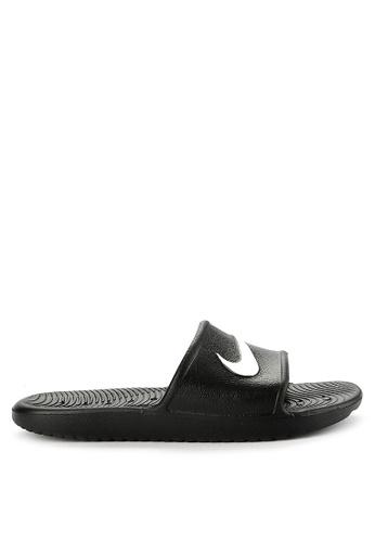 df747d97ebcd Nike black Women s Nike Kawa Shower Sandals D5C5DSHBBE95DFGS 1