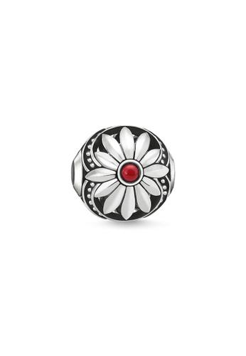 "THOMAS SABO silver Bead ""Ethnic Flower"" 153CAAC6C57B62GS_1"