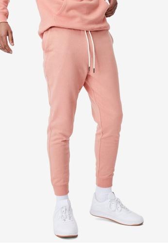Cotton On orange Trippy Slim Trackie Pants 5CE96AA5DF5DD9GS_1