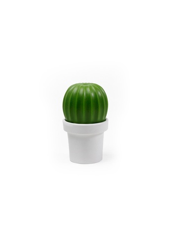 Qualy Qualy Tasty Cactus Salt/Pepper Grinder (White and Green) EA60CHLF6435A4GS_1