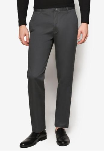 基本款棉質長褲,esprit官網 服飾, 長褲