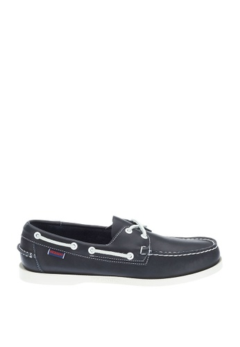 Sebago blue Docksides Core Boat Shoes C65F1SHD0F879CGS_1