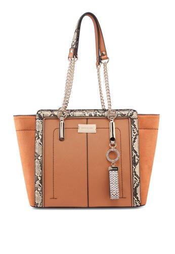 Buy River Island Tan Tab Front Tote Bag Online on ZALORA Singapore 6c17e9655f