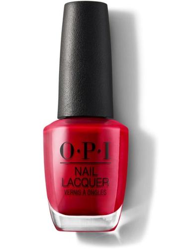 O.P.I red NLA16 - NL - THE THRILL OF BRAZIL EA915BEC34087FGS_1