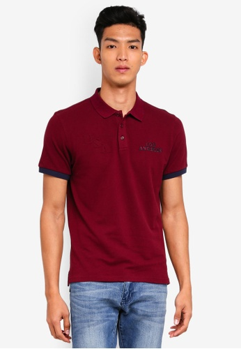 Marc & Giselle 紅色 短袖POLO衫 9249BAA77897E9GS_1
