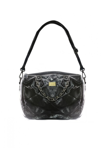 Her Jewellery black Janel Bag -  Embellished with Crystals from Swarovski® E72E3AC884341BGS_1