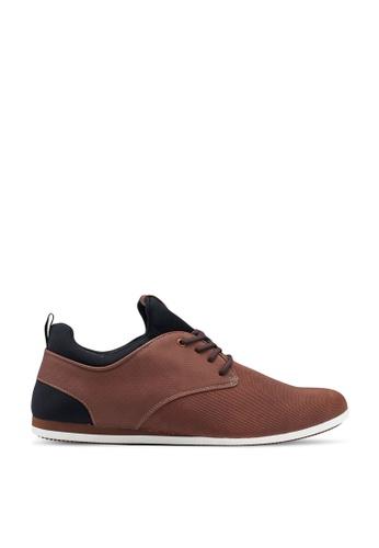 ALDO brown Preilia Derby Shoes 4A355SH7552039GS_1