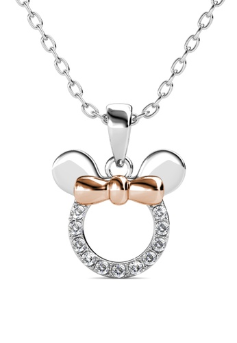 Her Jewellery silver Her Jewellery Micky Pendant with Necklace Chain with 18K Gold Plated E6163AC98E06C5GS_1