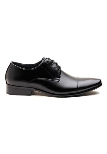 Kings Collection 黑色 尼科洛德比鞋 F573FSHABAB49BGS_1
