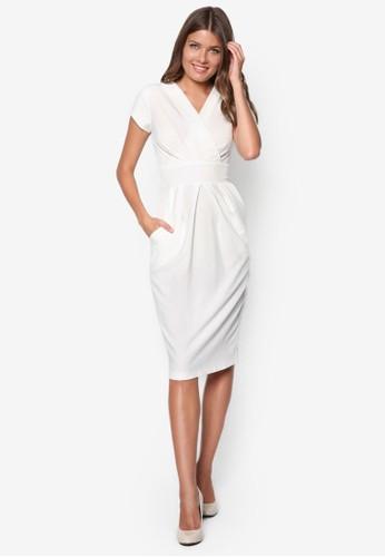 V領貼身洋esprit retail裝, 服飾, 洋裝